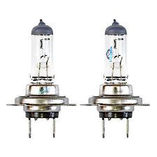 2x h7 naturale Vetro Chiaro Faro Proiettore Alogeno Lampadine Lampade 12v 55w