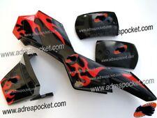 Kit De Carenado tipo 1 negro / rojo Pocket Quad 47 / 49cc