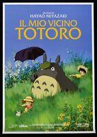 Poster Die Meine Nachbar Totoro Hayao Miyazaki Studio Ghibli Anime Manga Film