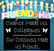 FRIENDSHIP HANGING SIGN, NOVELTY SIGN , LARGE SIZE PLASTIC GLOSS GIFT IDEA