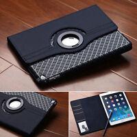 "360 Rotatif Cover Housse Coque Etui Cuir Pr ipad 7"" 8'' 9'' 10 Samsung Tablette"