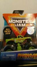 2019 NEW SPINMASTER MONSTER JAM AVENGER AUTHENIC WITH FIGURE AND POSTER