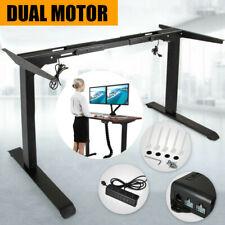 Electric Standing Desk/Height Adjustable Sit Stand Workstation Frame
