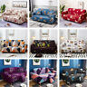 1/2/3/4 Seater Stretch Sofa Slipcovers Couch Armchair Cover / 1X Pillowcase Free