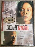 Intimate Betrayal (DVD, 2003) Monica Calhoun    Brand New   Sealed!
