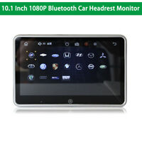 10.1'' Car Headrest Monitor Player Bluetooth Touch Screen 1080P Video With USB