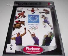 Athens 2004 PS2 PAL (Platinum) *No Manual*