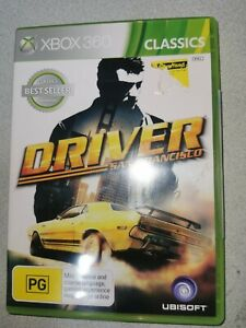 Driver San Francisco - Microsoft Xbox 360 - Free Postage + Manual