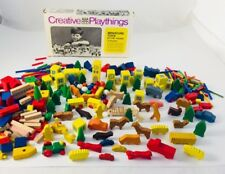 Vintage Creative Playthings Wooden Miniature Toys By The Pound 1969