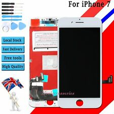 """For Apple iPhone 7 4.7"""" LCD Screen Replacement Digitizer Touch Display White UK"""