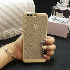For HuaWei mate 9 gold PC frosted Shell Frosted Breathable phone Case COVER  RF