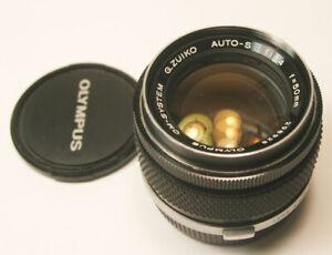 Olympus OM-System G.Zuiko Auto-s 50mm f/1.4 Prime Lens Super Clean