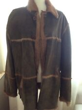 Stylish Men Shearling Coat European Brand Size Xl