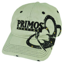 Primos Hunting Outdoors Brand Garment Wash Distressed Adjustable Buckle Hat Cap