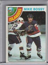 1978-79 TOPPS #115 MIKE BOSSY ROOKIE RC NEW YORK ISLANDERS 4195