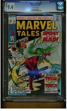 MARVEL TALES #19 CGC 9.4 NEAR MINT 1969 THOR HUMAN TORCH OFF WHITE PAGES MARVEL