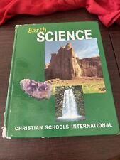 Earth Science textbook Christian school International.