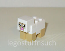 NEW LEGO® MINECRAFT Castle minifigure White SHEEP pet mob figure farm wool 21114