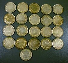 Lot Of 21 British India 1939 1/12 Anna Coins