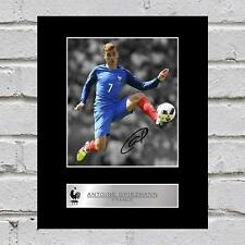 Antoine Griezmann Signed Mounted Photo Display France