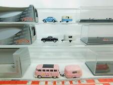BO883-0,5# 3x Schuco H0/1:87 VW-Bus/PKW+Wohnanhänger: 21754+21710+25446, OVP