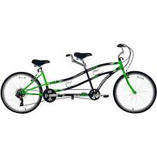 "26"" Northwoods Tandem Bike 21-Speed Dual Drive Green/Black"