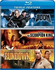 Doom Scorpion King Rundown 0025192159671 Blu Ray P H