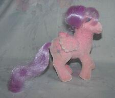 Vintage G1 My Little Pony MLP North Star So Soft - Pink Body, Purple Mane/Tail