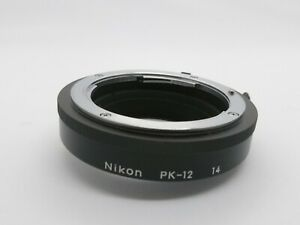 [Near Mint] Nikon PK-12 Genuine Auto Extension Ring  From Japan A23