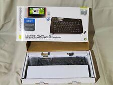 IOGEAR Wireless Smart TV 2.4GHz HTPC Keyboard with Trackball; GKM561R; Open Box