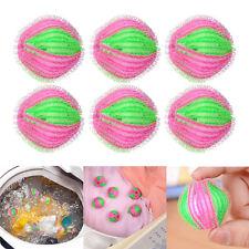 6Pcs Hair Lint Fluff Grabbing Laundry Washing Wash Ball Lint Grabbing Wash Ball