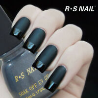 RS NAIL Matte Top Coat Gel Nail Polish Top it Off Soak Off UV LED Salon