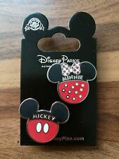 Disney Trading pins Mickey & Minnie Heads..