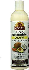 Okay Deep Moisturizing Coconut Oil Conditioner 12 oz