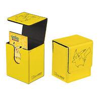 Ultra Pro - Pikachu Flip Case Deck Box - Pokemon Trading Card Game Storage