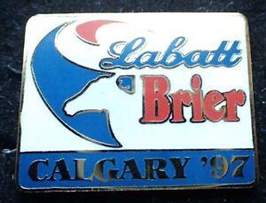 Labatt Brier Curling Pin - Calgary '97