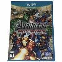 Marvel Avengers: Battle for Earth (Nintendo Wii U 2012) Case & Disc Tested Works