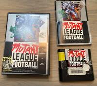 Mutant League Football (Sega Genesis 1993) Original Game with Box and Manual