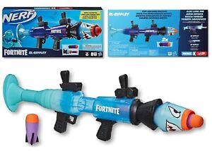 Nerf Fortnite RL Rippley Blaster Ages 8+ Toy Gun Fire Fun Rocket Foam Fight Play