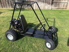 New Custom Built Go-Kart For Sale: Black, 6 1/2 Hp, One Seater
