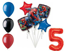 Spider-Man Balloon Bouquet 5th Birthday Party Supplies Decorations Spiderman