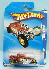 2433 HOT WHEELS / CARTE US / HW HOT RODS 2010 / BONE SHAKER VIOLET 1/64