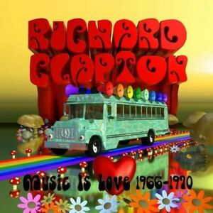 RICHARD CLAPTON Music Is Love (1966-1970) CD NEW