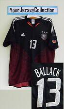 Germany 2003 2005 away Michael Ballack Football Shirt Soccer Jersey Adidas XL