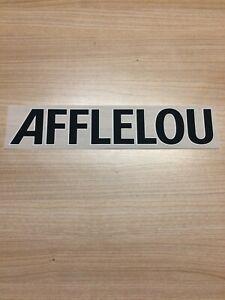 Flocage Sponsor officiel AFFLELOU Ligue 1 MONACO Maillot home 20/21 vendeur pro