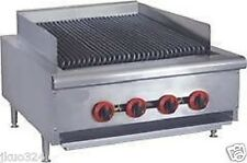 "New! Radiant Char Broiler Gas Grill 24"" 80,000 BTU"