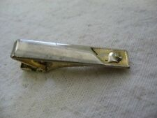 Vintage Silver Tone UNICORN HEAD Tie Clip Tie Clasp ~ Some Wear, See Pictures! ~