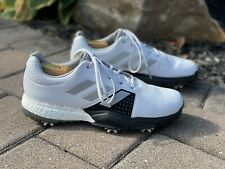 Adidas Boost men's size 10 white golf shoes