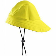 Yellow Fisherman Hat South Western Vintage Style Rain Hat Worker