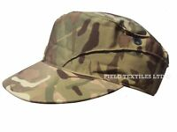 Genuine Army MTP Combat Cap Camo Crap Hat Cadets Hiking Military Camouflage UK
